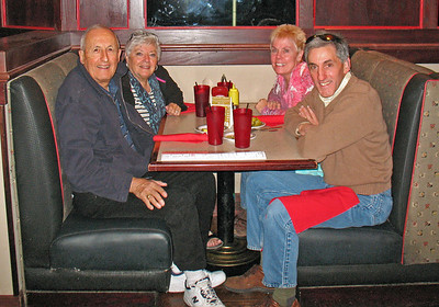 11/24/13: Mom and Dad arrived late Sunday afternoon after a long day of flights from Boston to Phoenix.