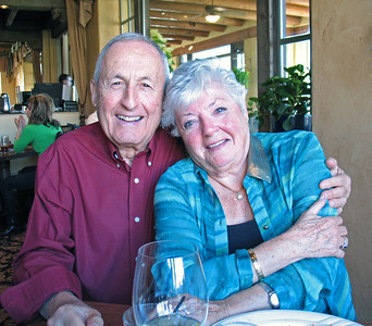 11/28/13: Mom and Dad at Hacienda Del Sol.