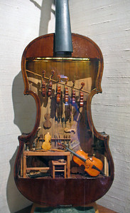 11/29/13: A violin workshop within a violin.