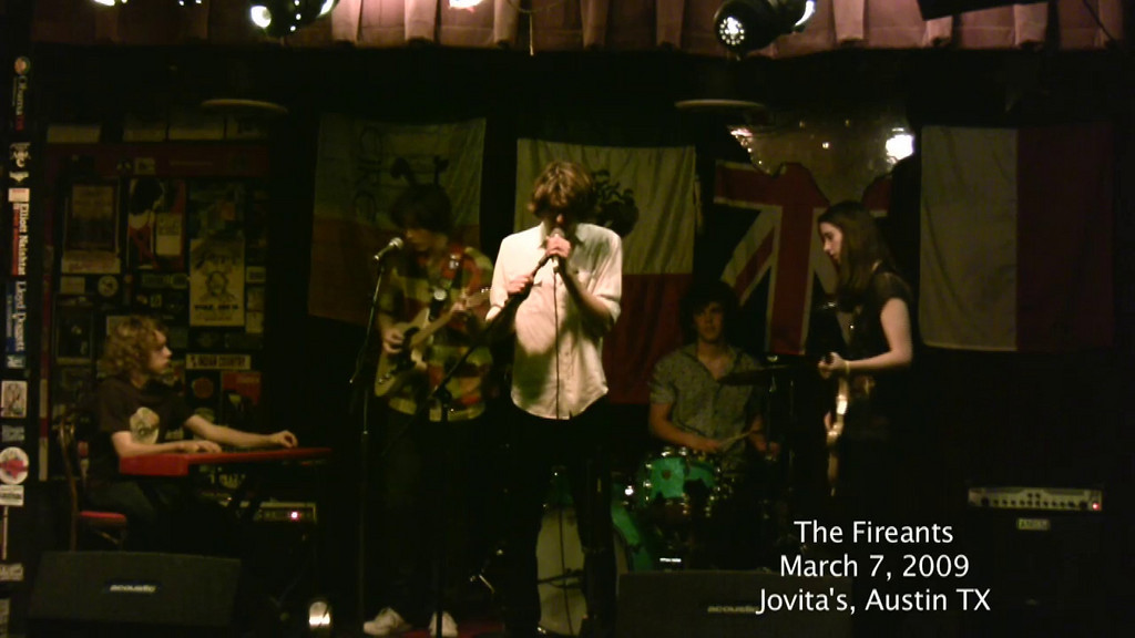 The Fireants<br /> One Way Out<br /> 3-7-09<br /> Jovita's<br /> Austin, TX