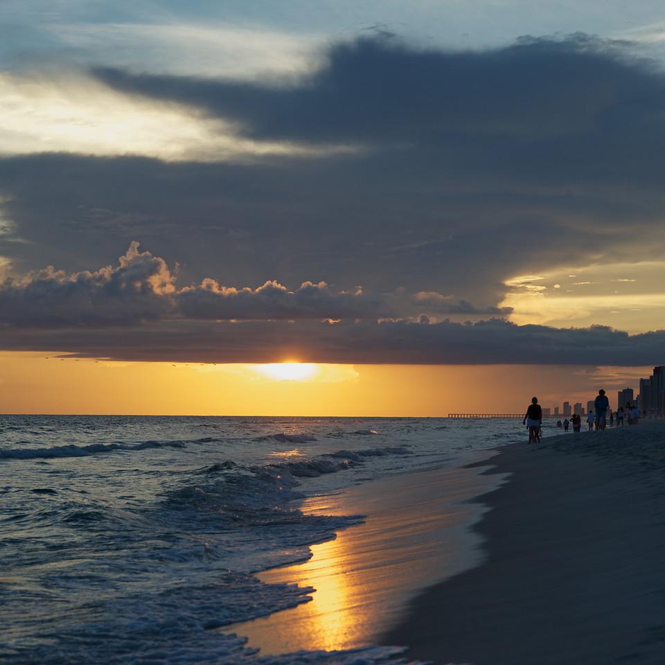 Sunset Reflection<br /> Panama City Beach<br /> 2013