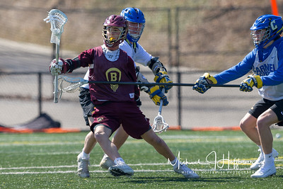 Brebeuf boys lacrosse scrimmage at Carmel March 10, 2018
