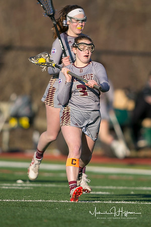 Brebeuf girls LAX vs. North Central_3/14/18