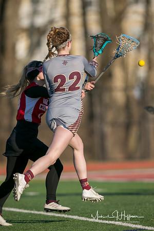 Brebeuf girls LAX vs. North Central_3/14/18