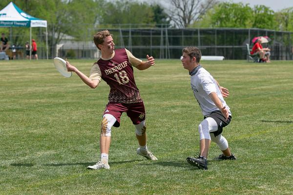 Brebeuf Ultimate Frisbee vs. Center Grove (State Championship)_5/6/18