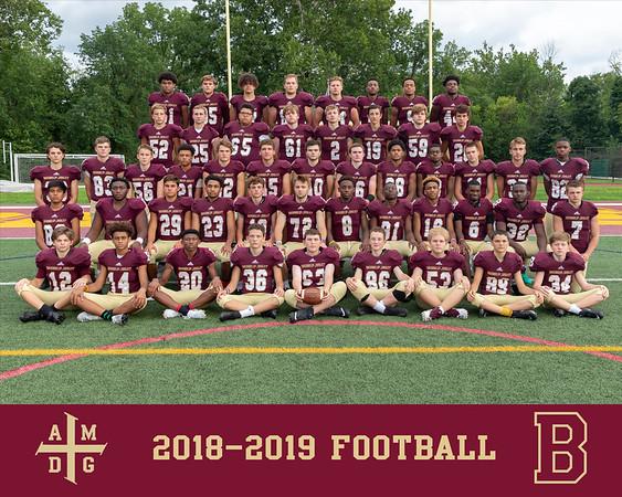 2018 Football team photo