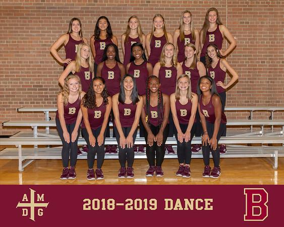 2018 Dance team photo
