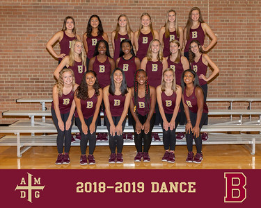 2018 Dance team photo