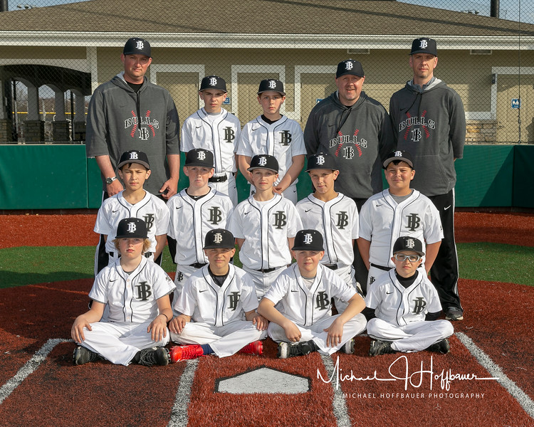 Indiana Bulls 11U Grey team pictures 041118