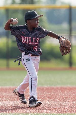 Indiana Bulls 9U White_6/13/18