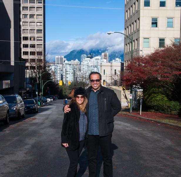 Behzad Eshraghi, Sanaz Noori, Vancouver, Nov 2014