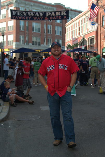 Shane at fenway