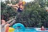 8-4-02 Donny throwing Kylle Jennifer on raft