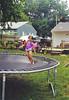 Nicole on trampoline 8-4-02