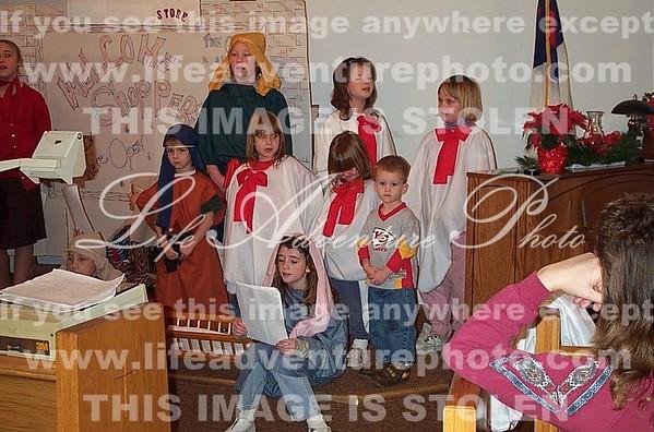 12-21-02 Choir at dress rehearsal