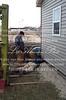 Donny Joe Matt 12-23-02 building in West Quincy