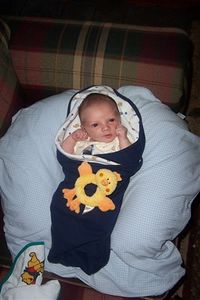 2005 MICHELLE AND PAUL'S NEW BABY BOY!!!  (contributed photos)