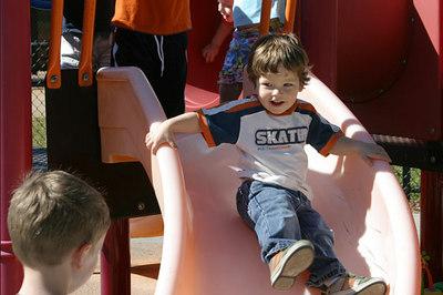 Adrik On The Playground