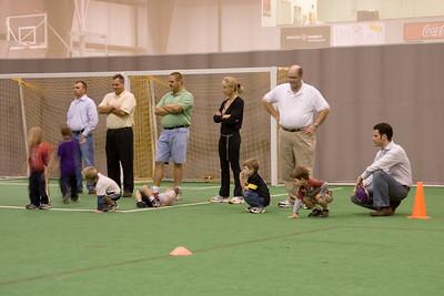 Adrik at Football Practice
