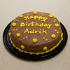 Adrik's birthday cake