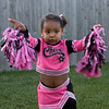 Amara is a cheerleader