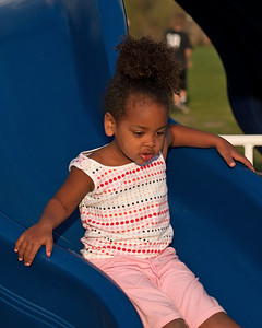 Amara Loves the Slide