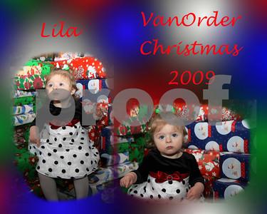 Lila VanOrder Christmas 2009