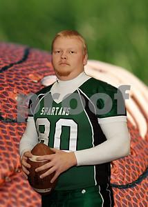 Brian football 5 x 7