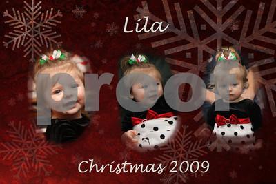 Lila Christmas 2009