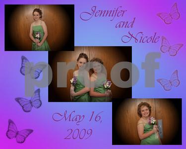 Jennifer and Nicole May 16 2009
