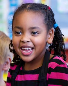 Amara at Preschool