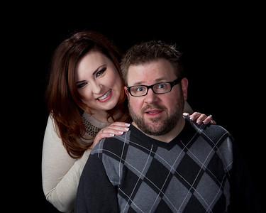 Christmas Eve:  Brian and Sadie