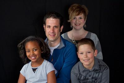 Christmas Eve: Jeremy, Amy, Adrik, Amara