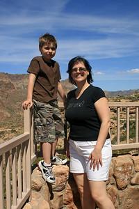 Noah & Julie along the Apache Trail
