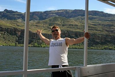 Captain overboard?? Nope