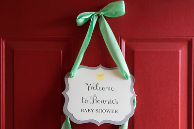 Bonnie's baby shower - February 20, 2016