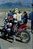 The Honda EXP-2 at the 1995 Nevada Rallye ridden by Bruce Ogilvie.