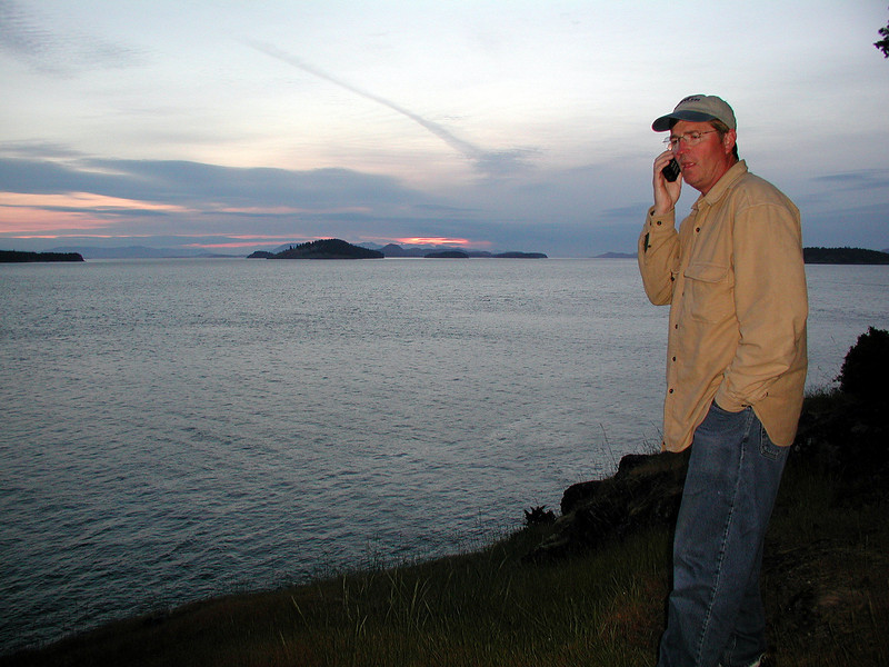 Calling Lynette from the San Juan Islands