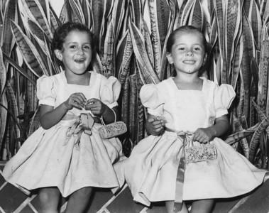 Laura y Patricia Martinez, c. 1960's.