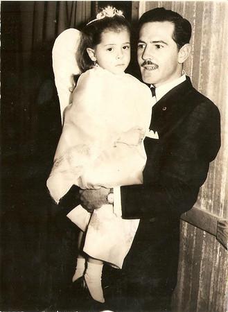 Paty Martínez Ramírez y Jesús Martínez Solana, c. 1963.
