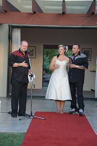 Anna and Gavin's wedding