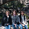 The girls at the Alamo