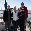 Captain Robert Balch and crew. (Sailing buddy from the Pine Island Flotilla and his 26' Catalina)