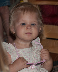 Emma Marie.. 12 months old on this day... deep thinker.