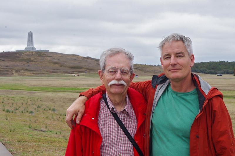 Dad and Me at Kitty Hawk
