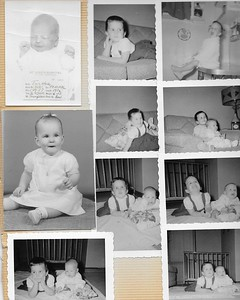 Cathy & Cathy Mary Baby Pictures