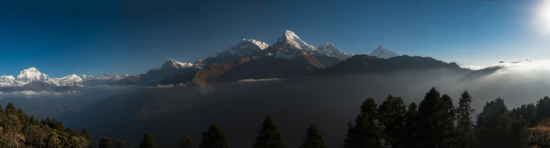 Sunrise at Poon Hill