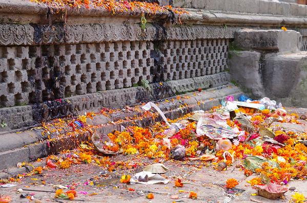 Offerings at a Hindu Mandir