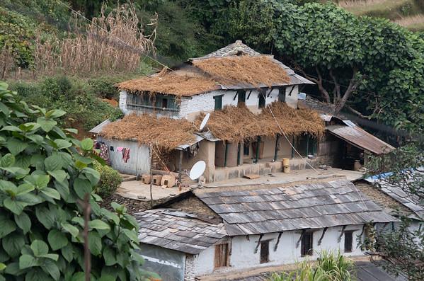 House, Barn and Harvest