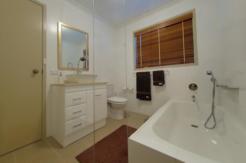 main bathroom; from inside shower